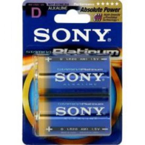Μπαταρίες Sony Αλκαλικές D