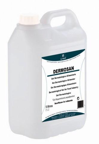 DERMOSAN Δερματολογικό gel Καθαρισμού Για Βιομηχανία Τροφίμων