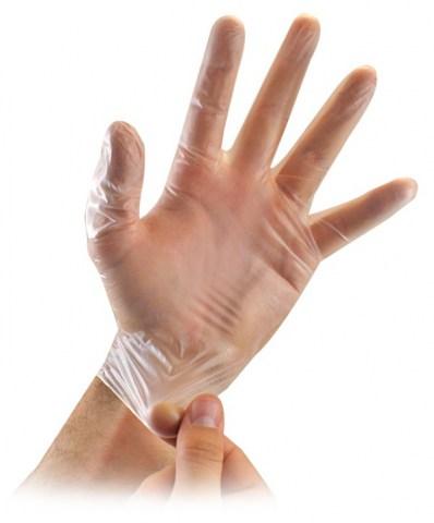 Γάντια Vinul Μιάς Χρήσης Χωρίς Πούδρα (ΔΙΑΦΑΝΕΣ)