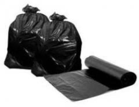 Σακούλες απορριμάτων σε ρολό