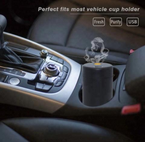 Συσκευή Διάχυσης Αιθέριων Ελαίων Αρωματισμού Αυτοκινήτων & Λεωφορείων
