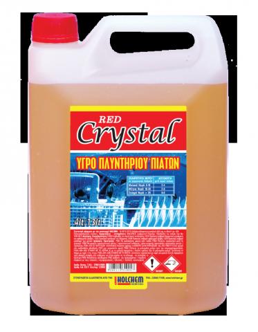 Υγρό Πλυντηρίου Πιάτων NEO CRYSTAL RED (για πολύ σκληρά νερά)