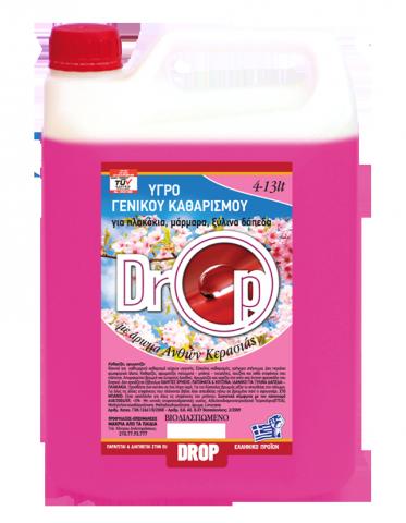 Υγρό Γενικού Καθαρισμού DROP 4L