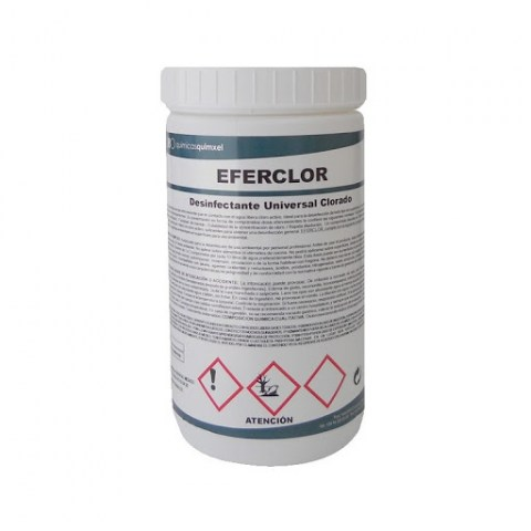 Απολυμαντικές Ταμπλέτες Χλωρίου EFERCLOR για Απολύμανση Χώρου, Προθαλάμων, Τουαλετών & Κάδων (0290007)