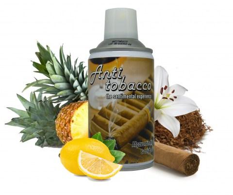 Αδρανοποίηση Οσμών & Τσιγάρου Spray Anti Tobacco με φυσικά εκχυλίσματα (Μελισσόχορτου, Κανναβέλαιου, Χαμομηλέλαιου)