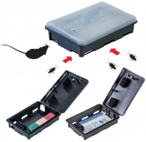 Δολωματικός Σταθμός Ποντικών Dual Monitor